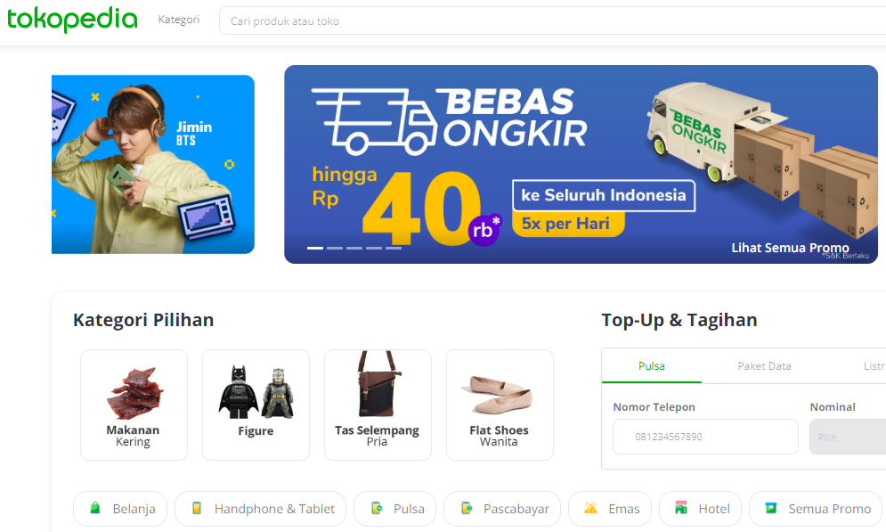 Jenis-Jenis E Commerce Indonesia Beserta Contohnya ...