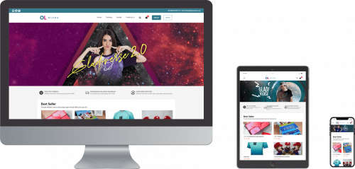 Tumbsnail Storefront OrderOnline - mobile friendly